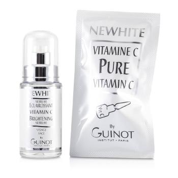 Guinot Newhite Витамин С Осветляющая Сыворотка (Осветляющая Сыворотка 23.5мл/0.8унц + Чистый Витамин С 1.5г/0.05унц) 2pcs