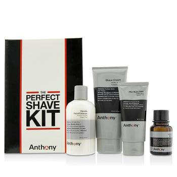 Anthony Logistics For Men Набор для Бритья: Очищающее Средство + Масло до Бритья + Крем для Бритья + Крем после Бритья 4pcs