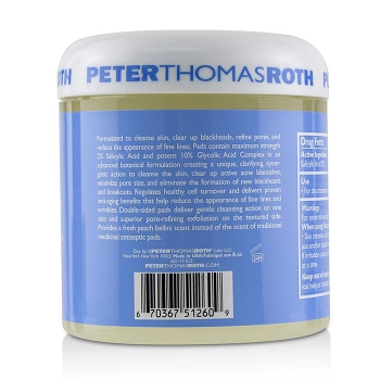 Peter Thomas Roth Диски для Максимальной Коррекции Цвета Лица 60pads