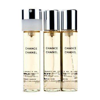 Chanel Chance Туалетная Вода Спрей Запасной Блок 3x20ml/0.7oz