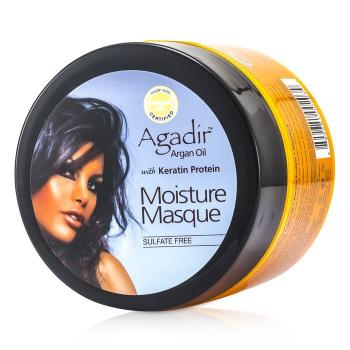 Agadir argan oil Увлажняющая Маска с Кератином и Протеином (Сохраняет Цвет Окрашенных Волос, Подходит для Всех Типов Волос) 236.6ml/8oz