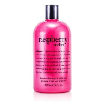 Philosophy Raspberry Sorbet Шампунь и Гель для Душа и Ванн 473.1ml/16oz