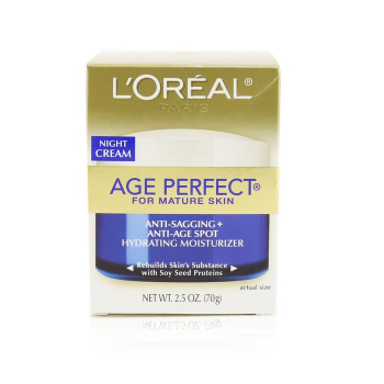 L'oreal Skin-Expertise Age Perfect Ночной Крем (для Зрелой Кожи) 70g/2.5oz