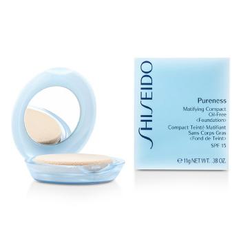Shiseido Pureness Матирующая Нежирная Компактная Основа SPF15 (Пудреница и Запасной Блок)